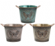 Antique Butterfly Planter Medium Available in 3 Colours LP42123